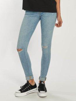Carhartt WIP Skinny Jeans Costa Meza Anny blau