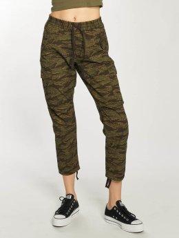 Carhartt WIP Spodnie Chino/Cargo Lane Camper Ankle moro