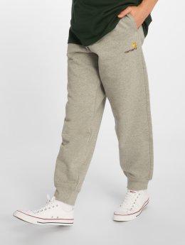 Carhartt WIP Spodnie do joggingu Wip American Script szary