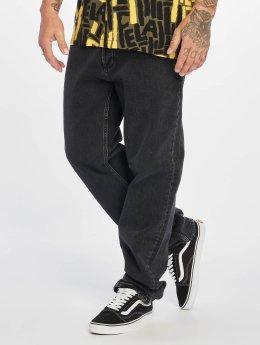Carhartt WIP Straight Fit Jeans Marlow čern