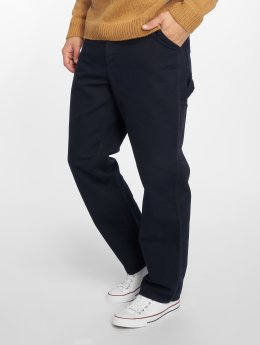 Carhartt WIP Straight Fit Jeans Single Knee blå