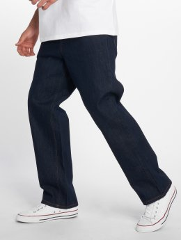 Carhartt WIP Straight Fit Jeans Smith blå
