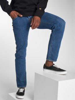 Carhartt WIP Straight Fit Jeans Klondike blå