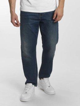 Carhartt WIP Straight Fit Jeans Milton Newel Relaxed blau