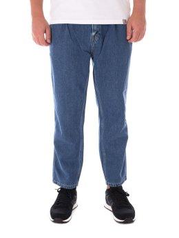 Carhartt WIP Straight Fit Jeans Abbott blau