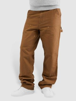 Carhartt WIP Straight Fit Jeans Turner Double Knee brun