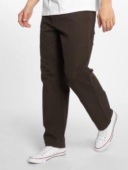 Carhartt WIP Straight Fit Jeans Single Knee brun