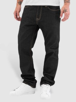 Carhartt WIP Straight Fit Jeans Otero Davies modrý