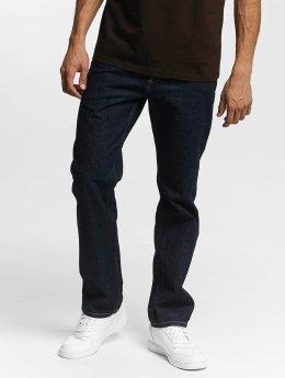 Carhartt WIP Straight Fit Jeans Edgewood modrý