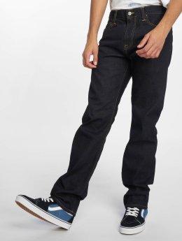 Carhartt WIP Straight Fit Jeans Davies modrý