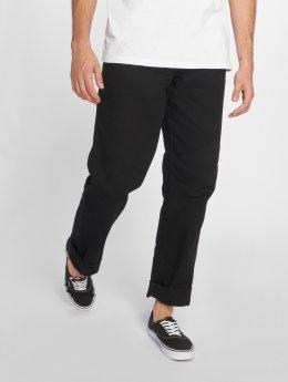 Carhartt WIP Straight Fit Jeans Single Knee svart