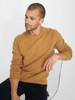 Carhartt WIP Swetry Anglistic brazowy