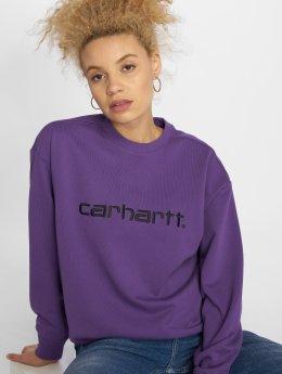 Carhartt WIP Swetry Basic  fioletowy