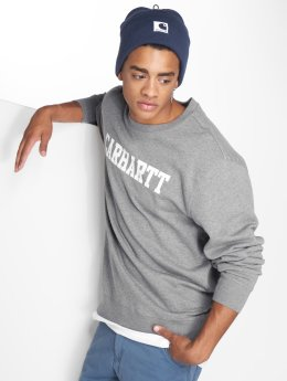 Carhartt WIP Swetry College szary