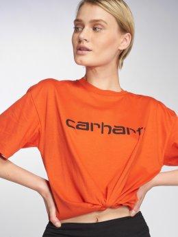 Carhartt WIP T-paidat Script oranssi