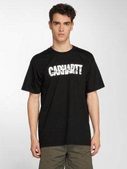 Carhartt WIP T-Shirt Shooting Cotton Loose Fit black