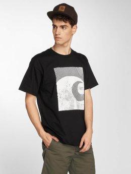 Carhartt WIP T-Shirt Circles Cotton Loose Fit black
