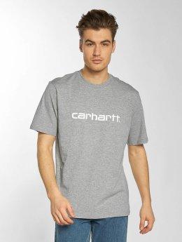 Carhartt WIP T-shirt Script grå