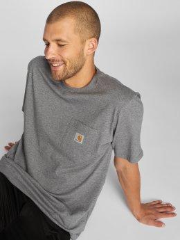 Carhartt WIP Männer T-Shirt Pocket in grau