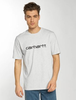Carhartt WIP T-Shirt Script gray