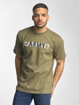 Carhartt WIP T-Shirt S/S CA Training grün
