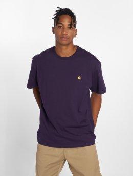 Carhartt WIP T-Shirt Chase purple
