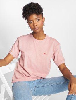 Carhartt WIP T-Shirt Naps Chase rosa