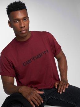 Carhartt WIP T-shirt Script rosso