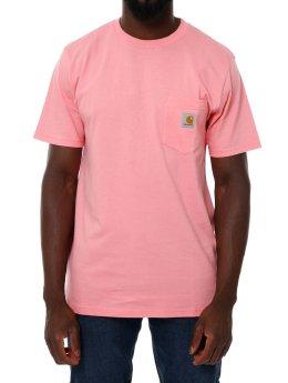 Carhartt WIP T-Shirt SS Pocket rot