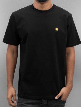 Carhartt WIP Männer T-Shirt Chase in schwarz