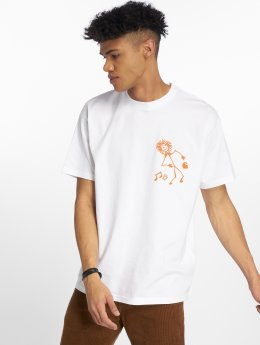 Carhartt WIP T-Shirt  Trojan King Of Sound weiß