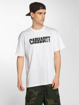 Carhartt WIP T-Shirty Shooting Cotton Loose Fit bialy