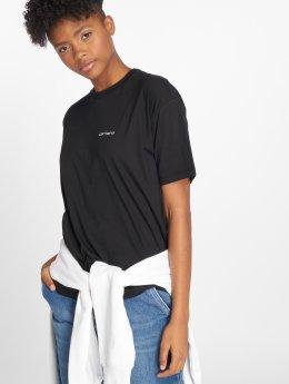 Carhartt WIP T-Shirty Script Embroidery czarny