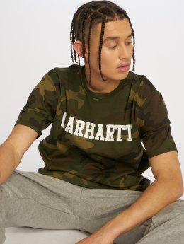 Carhartt WIP T-Shirty College  moro