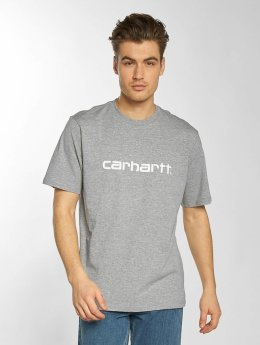 Carhartt WIP T-Shirty Script szary