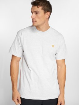 Carhartt WIP T-Shirty Wip Chase szary