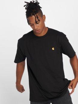 Carhartt WIP T-skjorter Chase svart