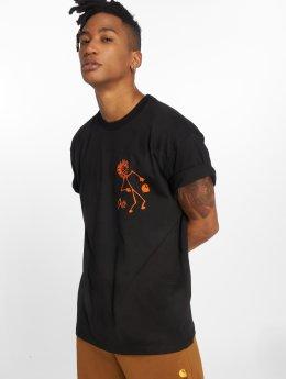 Carhartt WIP T-skjorter Trojan King Of Sound svart