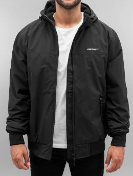 Carhartt WIP Übergangsjacke Supplex Nylon Hooded Sail schwarz