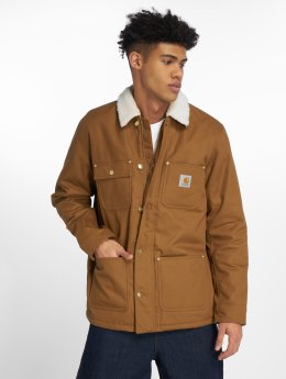 Carhartt WIP Winter Jacket Edgewood Fairmoun brown