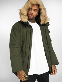 Carhartt WIP Winterjacke Anchorage olive