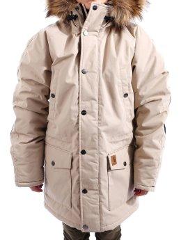 Carhartt WIP Zimné bundy W` Trapper hnedá