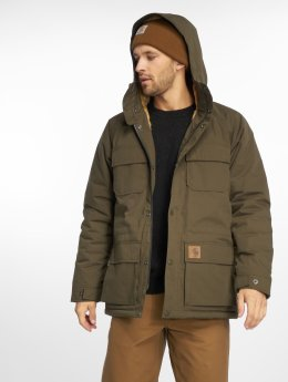 Carhartt WIP Zimné bundy Mentley Transition olivová