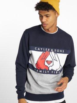 Cayler & Sons Пуловер C&s Wl First синий