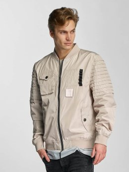 Cayler & Sons Bomber jacket Pleated beige