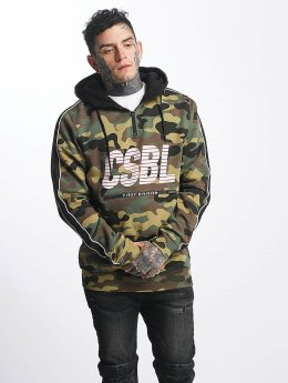 Cayler & Sons Hoody CSBL First Devision Half Zip camouflage