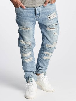 Cayler & Sons Jean carotte antifit ALLDD Flanneled Denim bleu