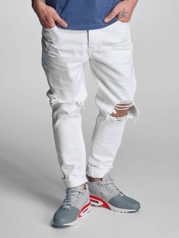 Cayler & Sons Jean coupe droite destroyed blanc