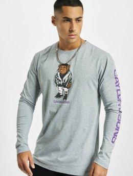 Cayler & Sons Pitkähihaiset paidat WL Purple Swag harmaa