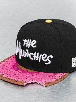 Cayler & Sons Snapback Caps Munchies čern